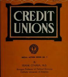 Credit Unions Frank OHara1937